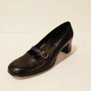 Franco Sarto Black Mary Janes. Size 6.5